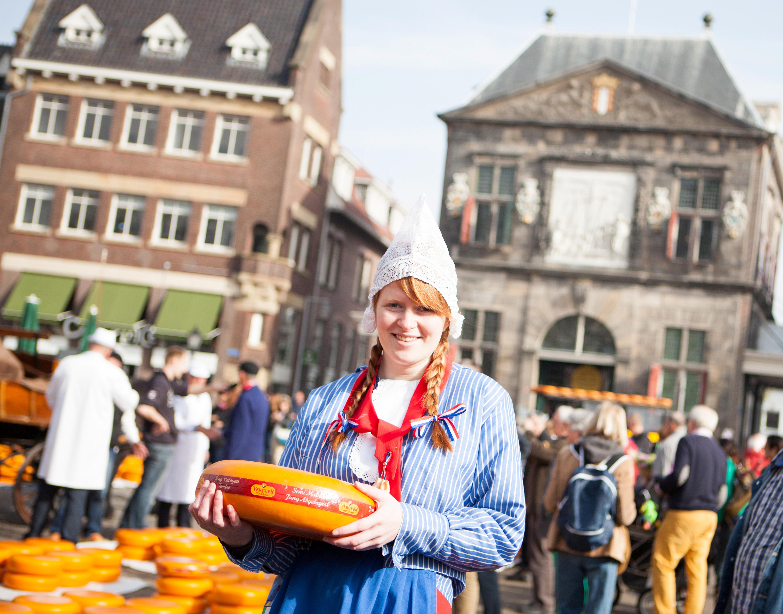 Traditioneller Käsemarkt Gouda