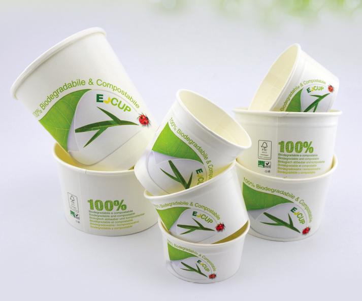 Nachhaltiges Bechersortiment E-CUP