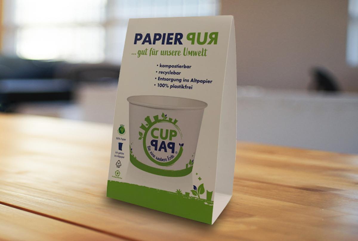 CupPap: Eisbecher aus Papier