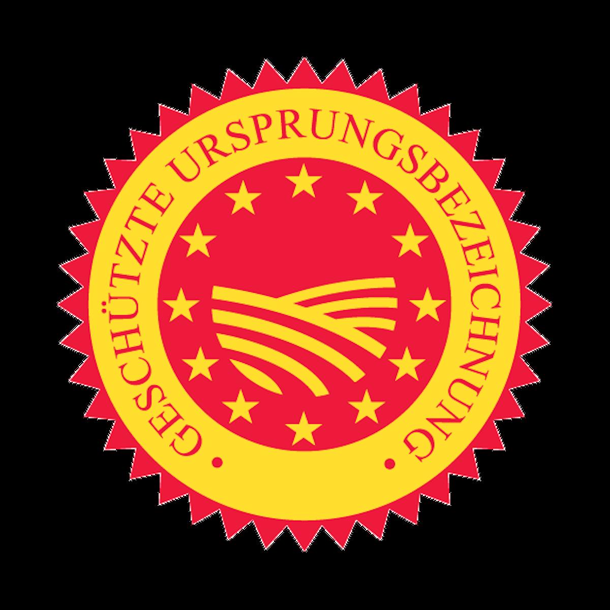 Siegel geschützte Ursprungsbezeichnung