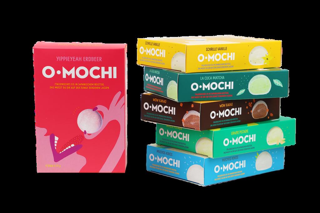 Mochi-Eis italienische Art